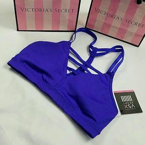 Victoria's Secret VSX Sports Bra Strapy NWT
